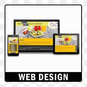 Conventional Advertising - Digital Marketing Responsive Web Design Landing Page PNG