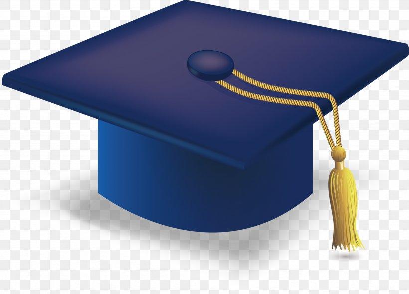 Graduation Ceremony Square Academic Cap Hat, PNG, 3381x2430px, Graduation Ceremony, Associate Degree, Bachelors Degree, Blue, Bonnet Download Free