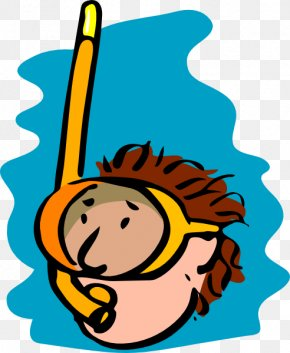 People Swimming Cliparts - Snorkeling Diving Mask Swimfin Scuba Diving Clip Art PNG