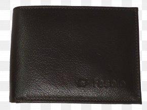 Wallet - Wallet Leather Brand Black M PNG