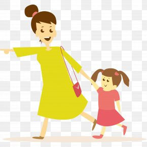 Mother Daughter - Vector Graphics Clip Art Mother Illustration PNG