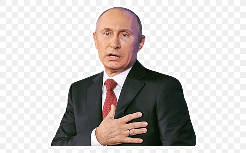 Vladimir Putin President Of Russia United States Sticker, PNG, 512x512px, Vladimir Putin, Business, Businessperson, Chin, Crimea Download Free