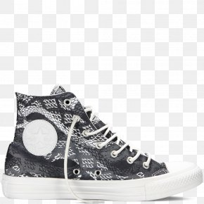 Chuck Friends Printables - Chuck Taylor All-Stars Converse CT II Hi Black/ White Sports Shoes High-top PNG