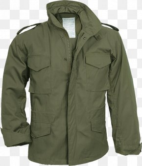 Jacket - M-1965 Field Jacket Coat Military Surplus Clothing PNG