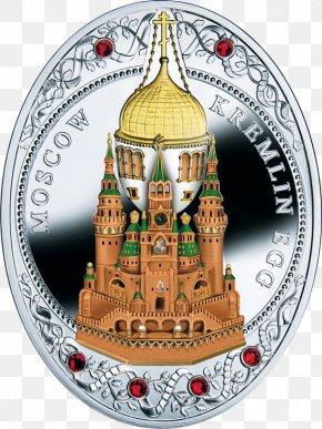 Moscow Kremlin - Moscow Kremlin Fabergé Egg Coin Niue Silver PNG