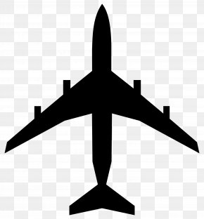 Airplane - Airplane Silhouette Clip Art: Transportation Clip Art PNG