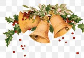 Christmas Bells - Santa Claus Christmas Jingle Bell Clip Art PNG