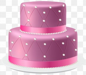Pink Cake Clip Art Image - Birthday Cake Icing Torte Wedding Cake Chocolate Cake PNG