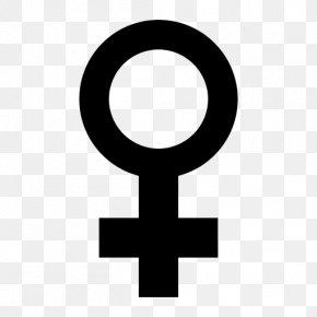 Symbol - Gender Symbol Female Sign PNG