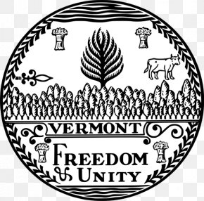 Seal - Vermont Republic Seal Of Vermont Great Seal Of The United States Flag Of Vermont PNG