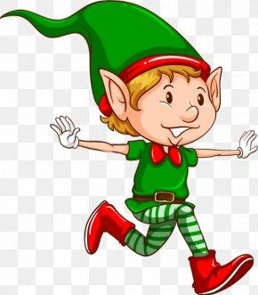 Santa Claus - Santa Claus Christmas Elf Stock Illustration Vector Graphics GIF PNG