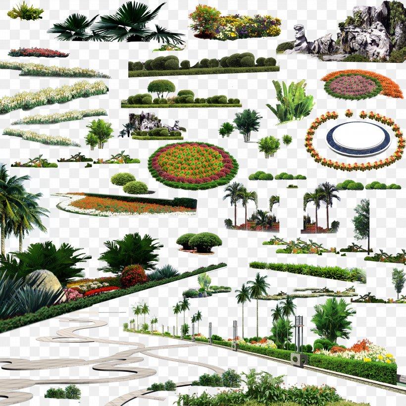 Landscape Download, PNG, 3402x3402px, Landscape, Architecture, Computer Software, Garden, Grass Download Free
