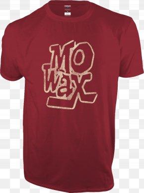 T-shirt - Mo' Wax T-shirt Indiana Hoosiers Men's Basketball Indiana Hoosiers Football Indiana Hoosiers Baseball PNG