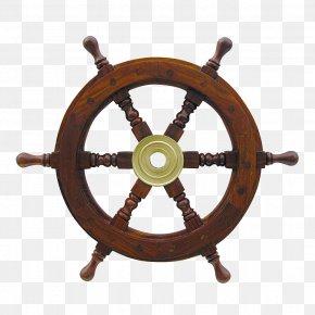 Steering Wheel - Amazon.com Ship's Wheel Boat PNG