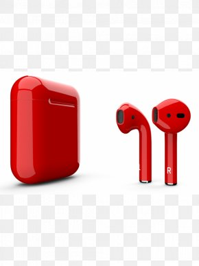 Bluetooth - AirPods Color Apple Paint Product Red PNG
