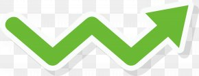 Green Sawtooth Right Arrow - Arrow Euclidean Vector Plot Icon PNG