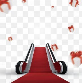 Lift The Red Carpet - Elevator CorelDRAW Poster PNG