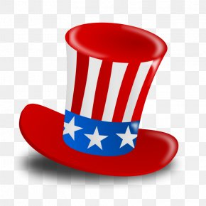 Flag Flag Of The United States - Birthday Hat Cartoon PNG