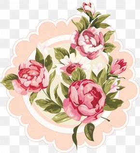 Subshrubby Peony Flower - Floral Design Greeting & Note Cards Flower Bouquet PNG