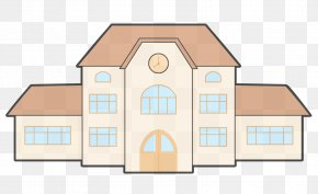 Facade Architecture - House Property Home Real Estate Roof PNG