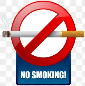 No Smoking - Smoking Ban Warning Sign Clip Art PNG