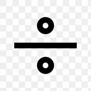 Symbol - Symbol Obelus Division Mathematics PNG