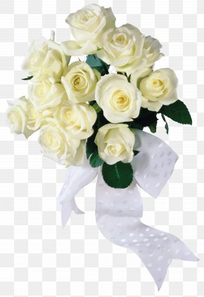 White Roses Image - Flower Bouquet Rose White PNG