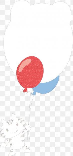 Kitten Balloon Vector - RGB Color Model Balloon PNG