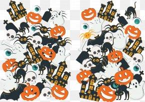European And American Holiday Halloween Element Vector - Euclidean Vector Halloween PNG
