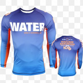 T-shirt - T-shirt Rash Guard Sleeve Jersey PNG