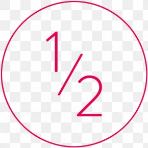 Line - Number Line Point Angle Pink M PNG