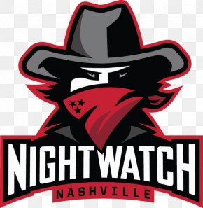Nashville NightWatch American Ultimate Disc League Logo PNG