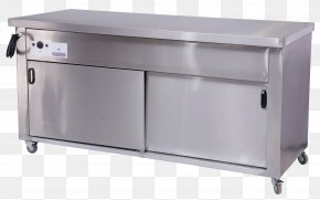 Table - Table Drawer Catering Kitchen PNG