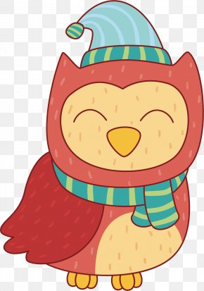Owl Illustration Cartoon Vector Graphics Bird PNG