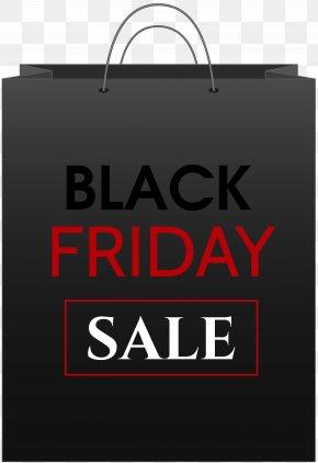 Black Friday Sale Bag Clip Art Image - Handbag Black Friday Clip Art PNG