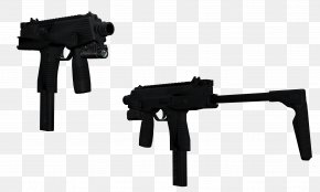 Machine Gun - Trigger Airsoft Guns Firearm Machine Gun PNG