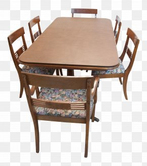 Mahogany Chair - Table Chair Furniture Dining Room Wood PNG