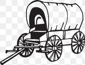 Covered Wagon - Oregon Trail American Frontier Clip Art Covered Wagon Conestoga Wagon PNG