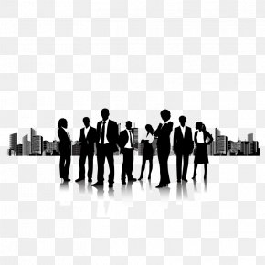 Team Silhouette - Businessperson Icon PNG