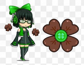 Fidget Spinner - Gacha World Four-leaf Clover Lunime Gacha Studio (Anime Dress Up) PNG