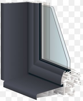 Aluminum Window Angle High-definition Deduction Material - Window Polyvinyl Chloride Door Aluminium Insulated Glazing PNG