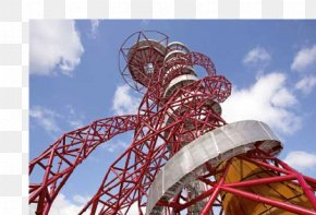 Building - ArcelorMittal Orbit 2012 Summer Olympics Artist Building PNG