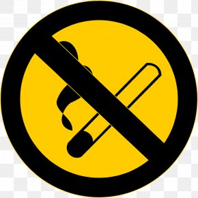 NO SMOKING SIGN - Smoking Ban No Symbol Clip Art PNG