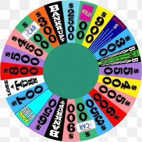 Fortune Wheel - Wheel Of Fortune 2 Game Show Television Show Contestant PNG