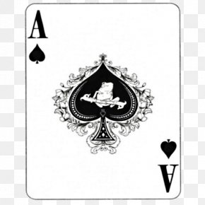 Spider - Patience Ace Of Spades Playing Card Card Game PNG