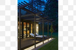 House - Architecture House Pergola Deck Daylighting PNG