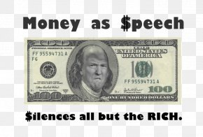 United States - United States One-dollar Bill United States One Hundred-dollar Bill United States Dollar Banknote PNG