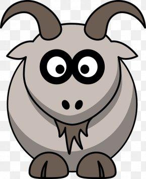 Goat - Goat Drawing Cartoon Clip Art PNG