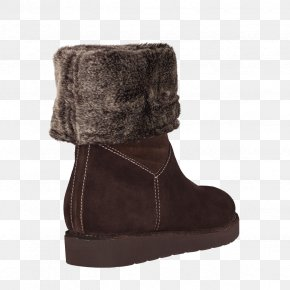 Boot - Snow Boot Suede Shoe Fur PNG