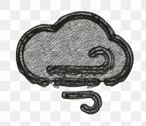 Drawing Windy Icon - Cloudy Icon Storm Icon Weather Icon PNG